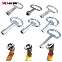 Ручные инструменты Didihou Universal панель Ключ Блокировка гаечный ключ Треугольник квадратный сокет Лифт шкаф выключатель поезда электрический шкаф