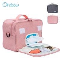 기저귀 가방 Orzbow 휴대용 아기 엄마 젖은 건조 가방 주최자 출산 기저귀 보관 보육상 보육