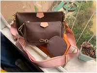 2021 luxury Designer Fashion style Women wallets shopping Bag Pu Leather Evening Bags Pruse wallet Messenger bag