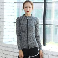Tracks Luxury Sport's Tight Running Zipper Yoga Hooded Long Sleeve Sports Coat Fitns Suit Quick Drying Cloth