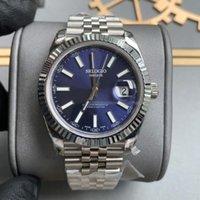 Дизайнерские моды мужские часы 41 мм автоматические механические мужчины спортивные часы Montre de luxe браслет из нержавеющей стали