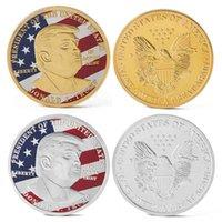 アートクリエイティブドナルドトランプ記念硬貨米国大統領メダリオンクラフトコレクション卸売