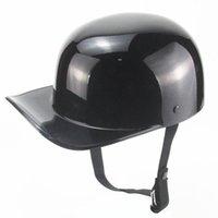Vintage Haydut Gang Beyzbol Şapkası Motosiklet Kask Ördek Zorlu Yarım Casco Demoto Kaskları