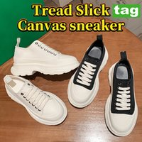 Newest Tread Slick canvas Casual shoes high triple black leather pale pink royal red white platform sneaker Fashion Girls party Shoe 35-40