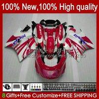 Тело для Kawasaki Ninja ZX-11 R ZZR-1100 ZX-11R ZX11R 90 91 92 93 94 95 30HC.18 Red White New ZZR 1100 CC ZX 11 R 11R ZX11 R ZZR1100 1996 1997 1998 1999 2000 2001