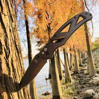 Открытый прямолинейный сплав цинкового сплава углерода габариты Patch D2 Blade Double Edge Hiking Самооборона кемпинга тактическая кухня DIY инструмент