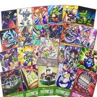 No.15 24pcs / Set Yugioh Cartoon Monster Cartes de style Anime Funny Nostalgique Artwork Retro Toondeck Orica Pegasus Toon Royaume Yu-Gi-Oh Yugioh