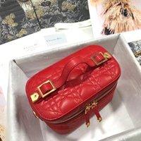 Qualidade de moda high-end Famoso Bolsa Bolsa de Hospeda Makeup Makeup Bags Multi-Function Cor é mais