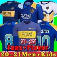 Boca Juniors 2021 Carlitos 21 22 Maradona Jersey Jersey Carlos Tevez Salvio Abila Boca Juniors Terceiro Jersey Villa Jersey Football