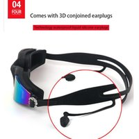 2 3 4 Pcs Swimming Goggles Silicone Uv Multi Color Swimming Glasses With Earplugs For Men Women Water Sports Eye Wear jllKGR