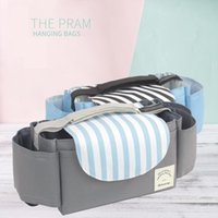 Diaper Bags Baby Stroller Bag Pram Pushchair Organiser Storage Universal By Bottle Cup Drink Holder Accessories Solid Color