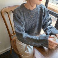 Women's Sweaters Lazy Casual Loose Ins Sweater Female Korean Harajuku Japanese Kawaii Ulzzang Vintage Clothing For Women