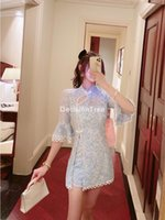 Elegant Cheongsam Dress Satin Qipao Classic Dress+pants Set Novelty Print Oriental Chinese Party Ethnic Clothing