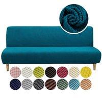 Canapé-lit universel Sofa Sofa sans arche pliant SPECTURE MODERNE COUVERTURE COUVERTURE COUVERTURE COUCH PROTECTEUR ÉLASTIQUE FUTON SPANDEX CHAIR