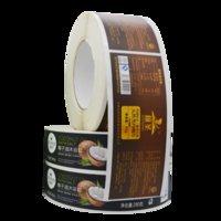 Selbstklebender Aufkleber Kundenspezifische QR-Code-Label-Marke Transparente wasserdichte Werbung LDRinting Color Logo PMMA PC PVC-Typenschild
