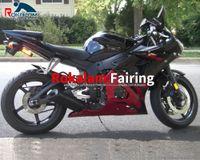 Rode zwarte romp onderdelen voor Yamaha YZFR6 YZF R6 2005 Cowling YZF-R6 05 YZF600 YZF 600 2005 Backings Kit (spuitgieten)