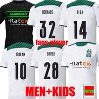 21 22 Borussia Monchengladbach Jerseys de fútbol Versión del jugador 2021 2022 Hogar Gladbach Elvedi Plea Zakaria Neuhaus Ginter Thuram Men Kit Kit Foootball Shirts