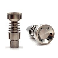 Other Hand Tools Universal Domeless Male Titanium Nail 4 IN 1 14mm 18mm 19mm Dual Function GR2 for Wax Oil Hookah Water Pipe Vaporizer Dab Rigs{category}