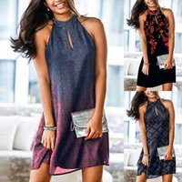 Summer Fashion Round Neck Womens Dress Plaid Print Dovetail Sling Plus Size Women Clothing Vintage Strap