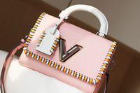 Top Qualität Twist Bag Tragbare weibliche Handtasche Schultertaschen Handtaschen