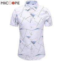 Camisas de manga curta casual para homens marca camisas camisa havaiana streetwear workwear masculino chemise homme blusas tops m-7xl homens