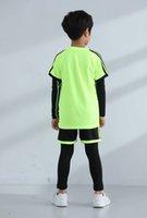 # 19 niños calidad tailandesa jerseys de fútbol personalizado o jersey de fútbol órdenes de desgaste casual, nota, color y estilo contacto con el servicio al cliente para personalizar el número Número de mangas cortas