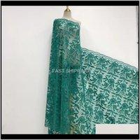 의류 의류 프랑스어 아프리카 패브릭 guipure sequined 코 튼 코드 튤립 나이지리아 issu 메쉬 인도 레이스 웨딩 드레스 드롭 델리