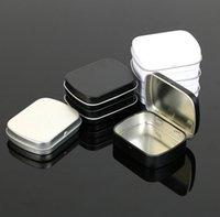 Wholesale petite taille charnière boîte boîte carré argent cadeau boîte scellant boîte
