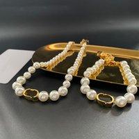 Luxus 2021 Designer Brief Perlen Halskette Super Vielseitige Mode Sinn Einfache und großzügige Persönlichkeit voller Fairy Essential Set Geschenk
