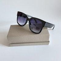 Yaz Leopar Çerçeve Kare Güneş Gözlüğü Bayan Erkekler Moda Marka Gözlük UV Koruma Gözlük Tasarımcı Sandy Plaj Güneş Gözlükleri