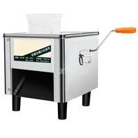 Fleischschleifer kommerzielle Elektrorschneider Slicer Schneidemaschine Edelstahl Vollautomatische Pflanzenschneide 850w 220V