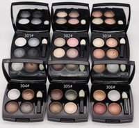 \ Makeup Eye Shadow Mineralize 4 cores paleta de sombra! 6pcs Epacket.