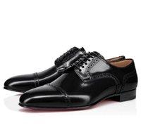Zarif Tasarımcı Eygen Derby Elbise Ayakkabı Beyefendi Kırmızı Alt Sneakers Out-Cuts Borwn Siyah Deri Oxford Yürüyüş Erkek Bayan Düğün Loafer'lar