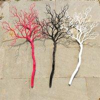 웨딩 소품 장식 화이트 산호 나뭇 가지 장식 파티 테이블 센터 피스 DIY 도로 리드 10 개 / 많이
