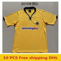 2010 lobos retrô camisas de futebol camisas de futebol homens maillots de pé tamanhos s-xxl