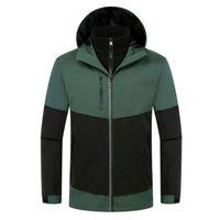 스키 정장 남성 야외 따뜻한 재킷 방풍 방수 눈 옷 겨울 스키 스노우 보드 브랜드 스포츠 SET185