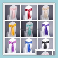 Textiles & Gardenelegant Sashes 17 Colors Spandex Er Bands Chair For Home Party Meeting Decoration Aessories Seat Ers Drop Delivery 2021 Okz