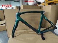 100 kind colors T1100 1K Glossy Carbon Bicycle Frames F12 Frame Carbon Road Bike Framesset Fork Seatpost Clamp Headset+Handlebar