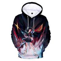 LA Kill 3D Print Hoodies Männer Frauen Sweatshirt Hip Hop Harajuku Kapuzenpullover Langarm Anime Tops Herren Sweatshirts