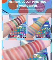 Laser Naked EyeShadow High-profile personality, 35 Color Natural Velvet Texture Eye Shadow, 30 Attention-Grabbing Eyeshadows, Platinum Ice Skin Frost Pro Palette