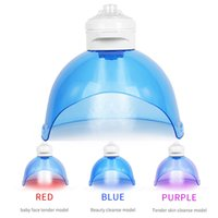 H2O2 Portable skin care SPA whitening Hydrogenated oxygen jet facial machine therapy led light mask
