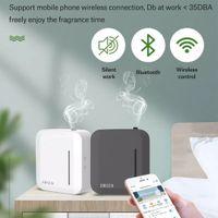 Lntelligent Aroma-Duft-Luftbefeuchter-Machine-Duft-Einheit Wesentlicher Oilaroma-Diffusor 150ml Timer-App-Kontrolle für Home Hotel-Büro
