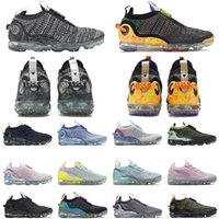 air vapormax 2021 flyknit hommes femmes chaussures de course Triple Black Monochrome Oatmeal Summit White Oreo Iron Grey Stone Blue outdoor mens trainer