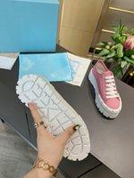 2021 디자이너 여성 나일론 캐주얼 신발 Gabardine 클래식 캔버스 스니커즈 브랜드 휠 레이디 스타일리스트 트레이너 패션 플랫폼 단단한 신발