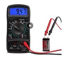 XL830L 디지털 멀티 미터 ESR 미터 테스터 자동차 전기 DMM 트랜지스터 피크 테스터 커패시턴스