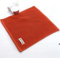 Das neueste Modell von 33x34cm Größe Handtuch, japanische Baumwolle Wabengaze Universal Face Wash Handtücher, weiche und saugfähige Wischtücher HWE6800