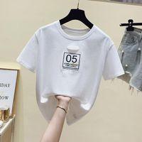 Women's T-Shirt Summer Fashion Shirt Hollow Out T Women Tops Base O-neck White Tees Patchwork Girls Tshirt 2021 Woman Tshirts Y2k