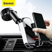 Baseus 10W Wireless Car Charger For iPhone 11 Pro Max Induction Fast Wireless Charging Car Phone Holder Mount For Xiaomi