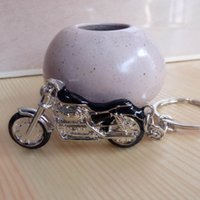 2021 New Motorcycle Key Chain Holder Metal Men Keychain Women Best Ring 4 Color Jewelry Charm Car Gift Gxich