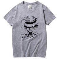 T-Shirt100% Baumwolle T-Shirt Hohe Qualität Mode Lässig Lustiges Spiel Anime Print T-Shirt Männer Marke Kleidung Tshirts